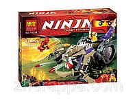 Конструктор для детей, ребенка Ninja Bela 10318. Лего Ниндзя 10318. Разрушитель Клана Анакондрай, 218 деталей