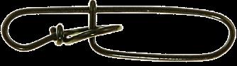 Застежка BFT Stay-Lok snap, size 4, 130lb/59кг, 10-pack