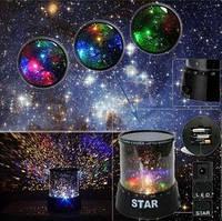 Проектор ночник звездное небо Star Master. Ночник для детей
