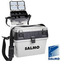 ЯЗимний ящик пластиковый (низкий) SALMO 38х24,5см; h-29см