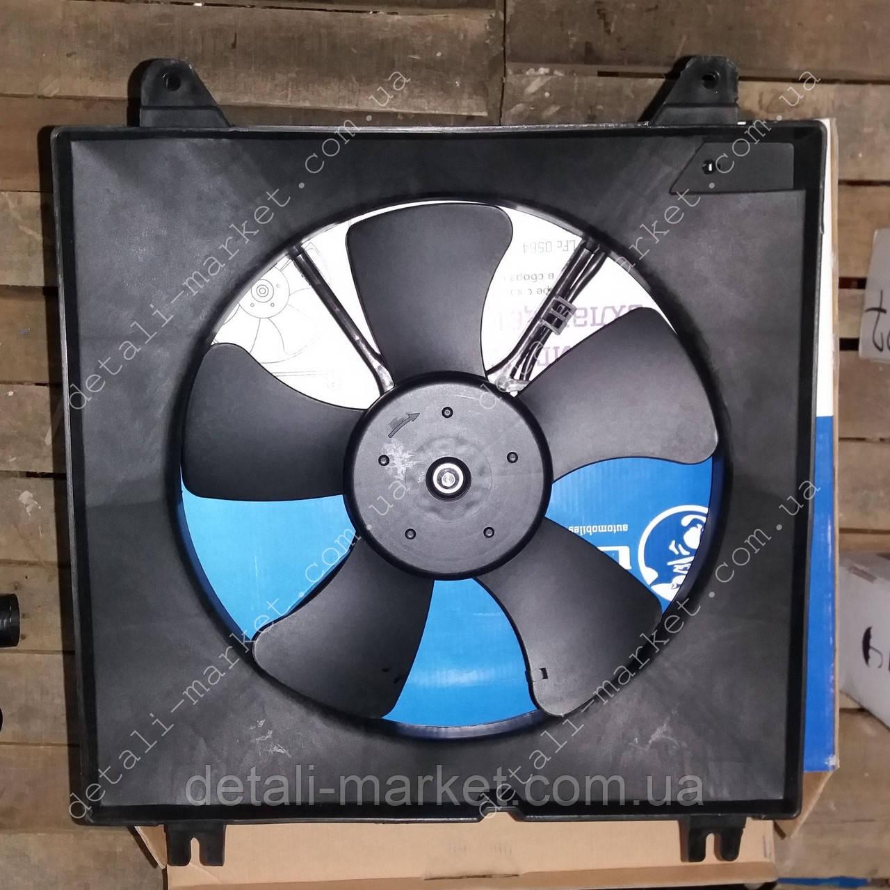 Вентилятор охлаждения радиатора Лачетти Лузар