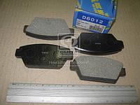 Колодка тормозной (Производство MK Kashiyama) D6012, ACHZX