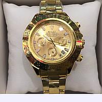 ЧАСЫ НАРУЧНЫЕ ROLEX DAYTONA GOLD NEW,женские наручные часы, мужские, часы Ролекс