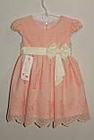 Платье на девочку персиковое 3,7 лет Польша арт 467467, фото 2