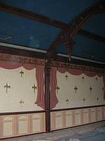 Деревянная мебель для бара