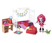 Май Литл Пони Минис Пинки Пай вечеринка в спальне My Little Pony Equestria Girls Minis Pinkie Pie Party