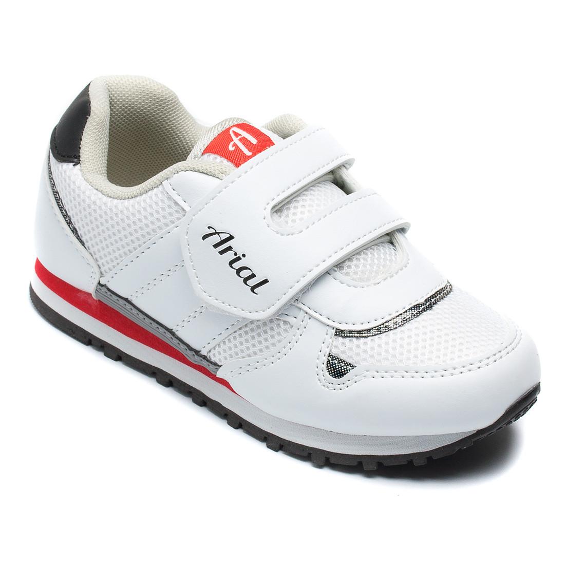 Белые кроссовки Arial на мальчика, размер 29-32
