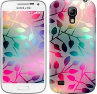 "Чехол на Samsung Galaxy S4 mini Duos GT i9192 Листья ""2235c-63-328"""
