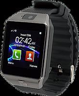"Умные часы DZ09, Fiteness-tracker, Шагомер, Умный сон, SIM-карта, камера 1.5 Mpx, Bluetooth 3.0, дисплей 1.56"""