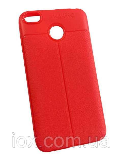 Красная TPU матовая чехол-накладка AutoFocus для Xiaomi Redmi 3s