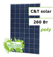 C&T Solar СT60260-P, 260 W поликристаллическая солнечная панель (батарея, фотоэлектрический модуль)