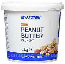 Арахісова Паста Myprotein original peanut butter crucny 1 kg