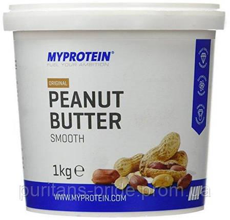 Арахисовая Паста Myprotein original peanut butter smooth 1 kg, фото 2