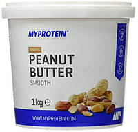 Арахисовая Паста Myprotein original peanut butter smooth 1 kg