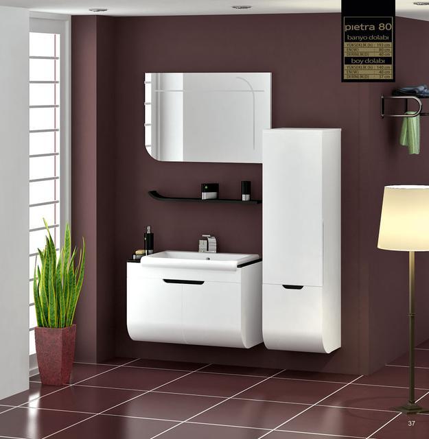 Мебель для ванной комнаты GOLD Ban-Yom (Турция)