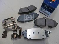 Колодки тормозные дисковые (Производство Mobis) 581012DA30