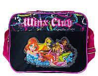 """Детская сумка """"Winx Club"""" 62803-А Черный (18x25x10 см.) купить оптом со склада, фото 1"""