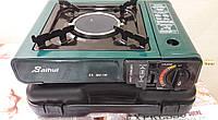 Газовая плита обогреватель с керамической горелкой Junlang BDZ-168 +адаптер для бытового баллона