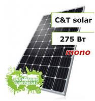 C&T Solar СT60275-M, 275 Wp монокристаллическая солнечная панель (батарея, фотоэлектрический модуль)