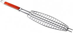 Решетка для барбекю рыба 150*370мм