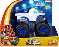 Чудо-машинка Говорящий Дарингтон от Fisher price. Blaze & the Monster Machines Talking Darington , фото 1