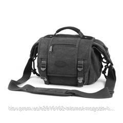 "Сумка для фотоаппарата MATIN CANVAS BAG ""ADVENTURE""-25 / BLACK"