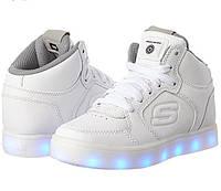 Светящиеся LED кроссовки Skechers