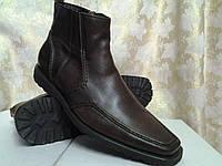Классические демисезонные ботинки коричневые Ringerman, фото 1