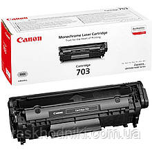 Картридж тонерный Canon 703 для LBP-2900/3000, HP LJ 1010/1020/1022 2000 копий Black