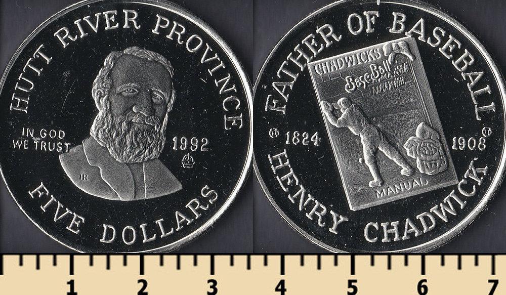 Хатт Ривер 5 долларов 1992