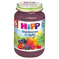 HiPP Пюре фруктовое: лесные ягоды с яблоком 190 г  с 6-го мес.