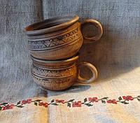 Чашка глиняна 0,25л Ялинка
