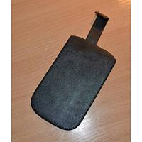 Кожаный чехол карман (сумочкой) для всех моделей телефонов