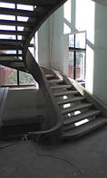 Бетонная винтовая лестница, фото 1