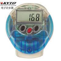 Цифровой шагомер PDM-2603 KYTO ( шаги, дистанция, калории)