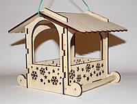3054 Уличная кормушка для диких птиц (синичник)