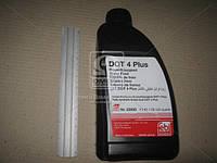 Жидкость тормозная FEBI DOT4 Plus (Канистра 1л), AAHZX