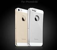 Защитное стекло для iPhone 5/5S - Yoobao Tempered glass 0.3 mm back side (на заднюю часть)