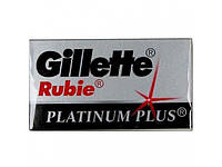 Лезвия Gillette платина