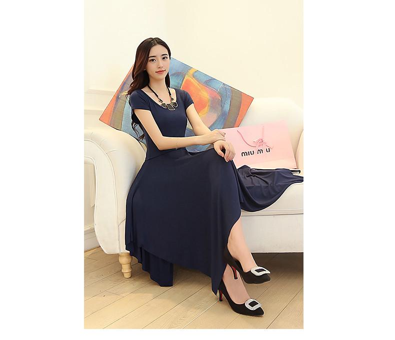 РАСПРОДАЖА Воздушное стрейчевое  платье ассиметрия с коротким рукавом