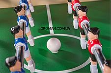 Настольный футбол складной Valencia - 140 x 75 x 89 см, фото 3