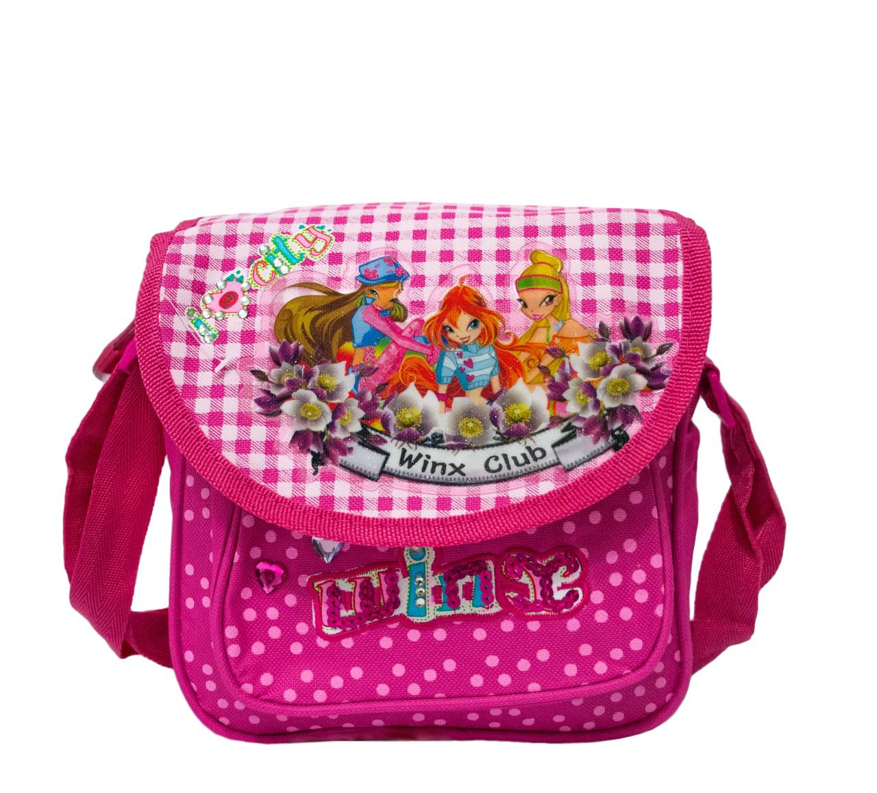 58042a623568 Детская сумочка «Winx Club» 62553-A Розовый (20х15х10 см) купить оптом