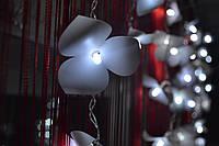 """Гирлянда бахрома на окно """"Яркие орхидеи"""", фото 1"""