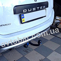 Фаркоп на Renault Duster (с 2010--) Рено Дастер