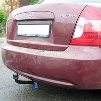 Фаркоп на Hyundai Accent (2006-2011) Хюндай Акцент