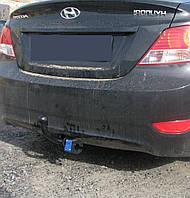 Фаркоп на Hyundai Accent (с 2011--) Хюндай Акцент