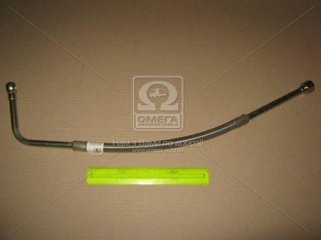 Трубка подвода масла к турбокомпрессору в метал. оплетке короткая  740.21-1118290, AAHZX