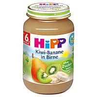 HiPP Пюре фруктовое: киви-банан-груша 190 г,  с 6-го мес.