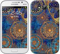 "Чехол на Samsung Galaxy Grand I9082 Золотой узор ""678c-66-328"""