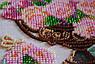 """Набор для вышивания бисером на холсте """"Садовые цветы"""", фото 3"""